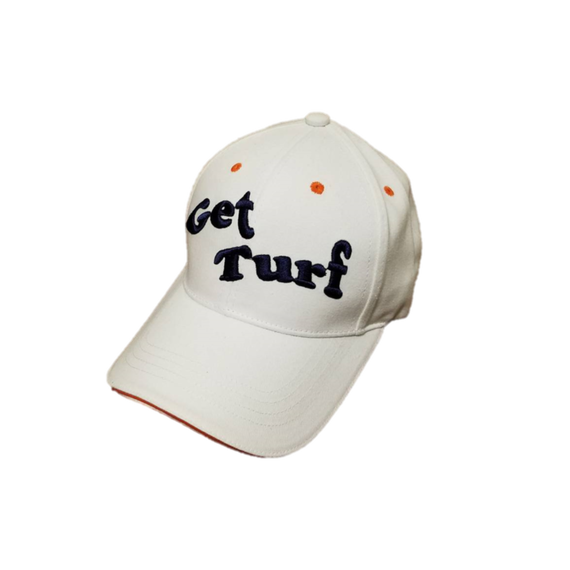 【Get Turf】Golf Cap(White)