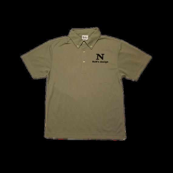 ゴルフ我流道×NoN`s design Golf Polo(Gray)