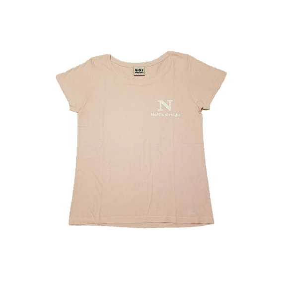 Lady`s-N Logo Fit T-shirt(Pink)