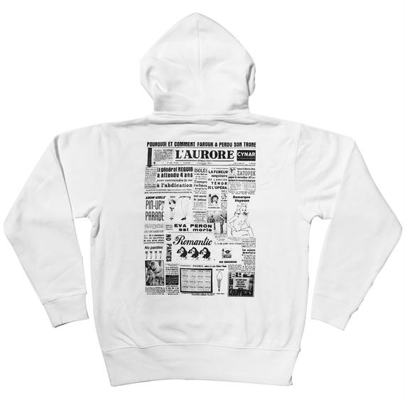 NEWS PAPER Collage Hoodie