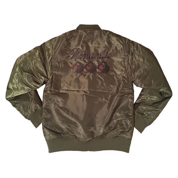 Embroidery  Flight Jacket