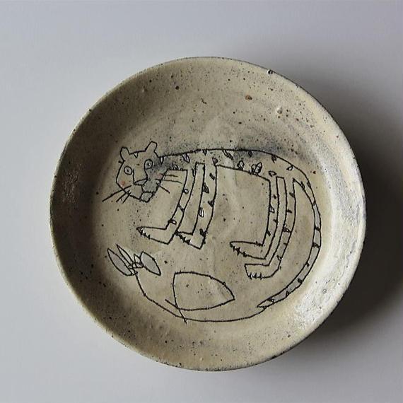 清水しおり リム皿(no.4)
