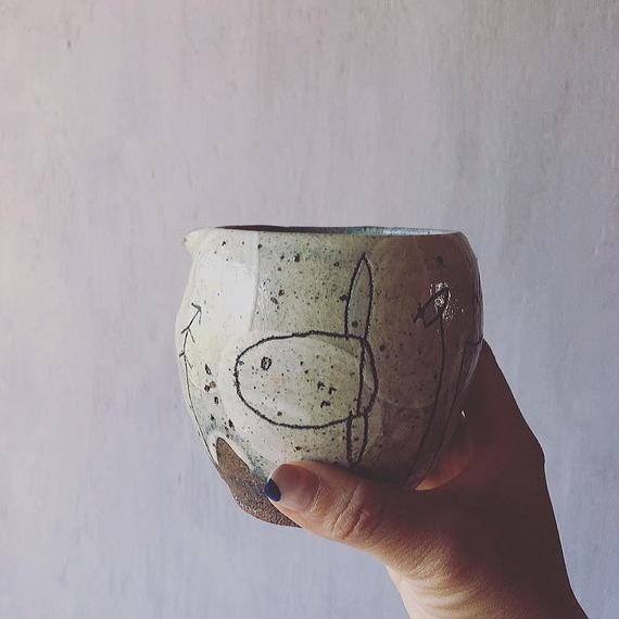 清水しおり 片口(no.3)