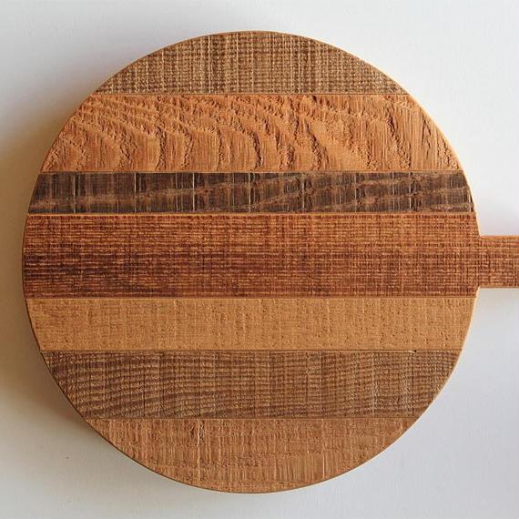 工房イサド 寄木の鍋敷きボード(no.2)