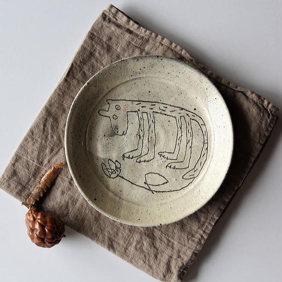 清水しおり リム皿(no.2)