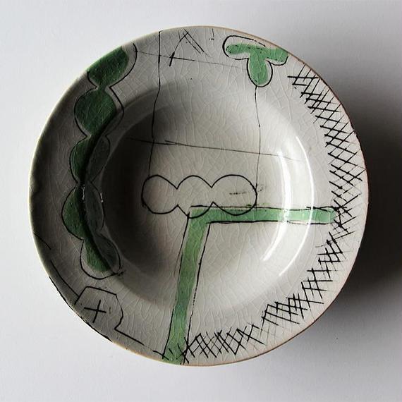 キムホノ リム皿(みどり)
