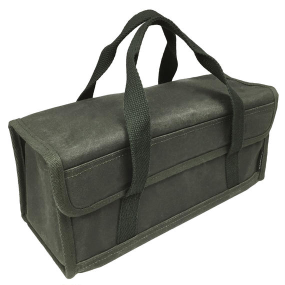 asobito ツールボックス(Sサイズ) 9号綿帆布ケース ペグ・ペグハンマー等の収納に