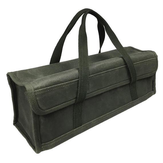 asobito ツールボックス(Mサイズ) 9号綿帆布ケース ペグ・ペグハンマー等の収納に