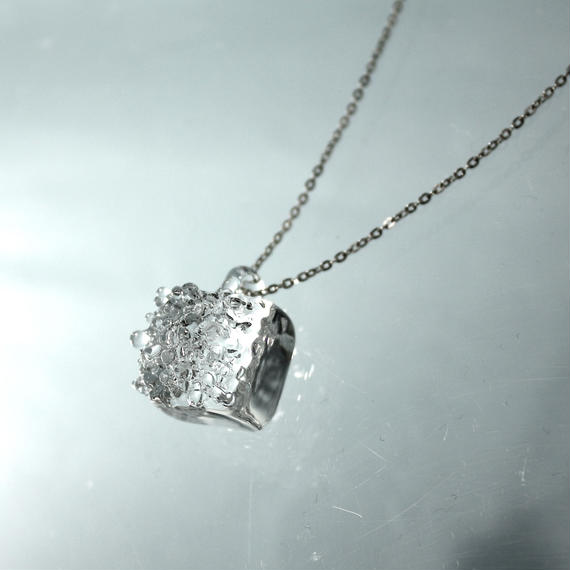Square Cube Necklace スクエアキューブネックレス