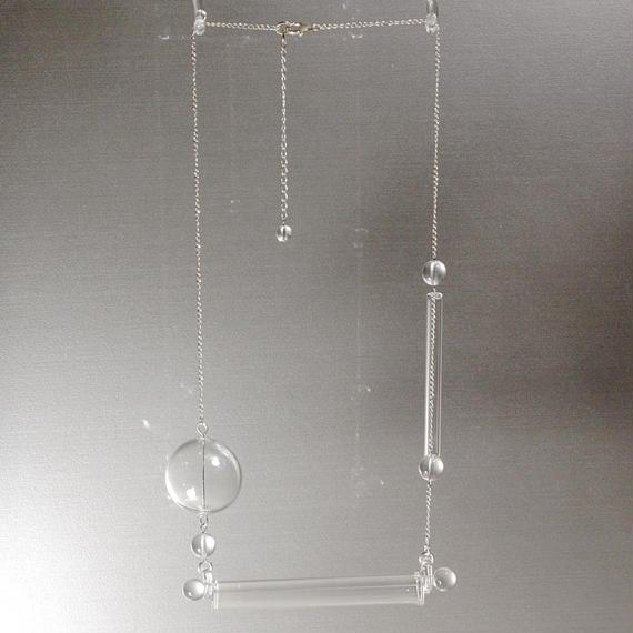 Bonbon Tube Necklace ボンボンチューブネックレス