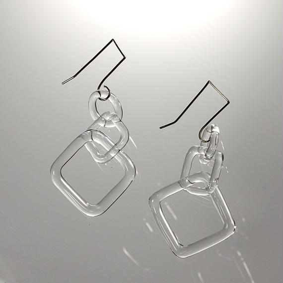Square Earrings スクエアピアス