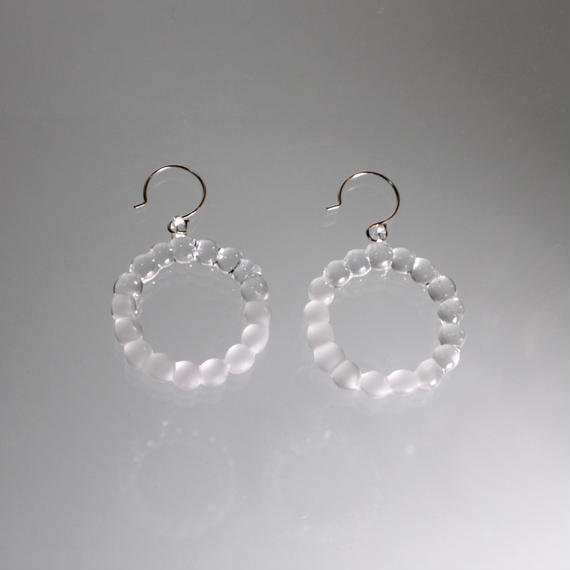 Bubble Earrings L バブルピアス L