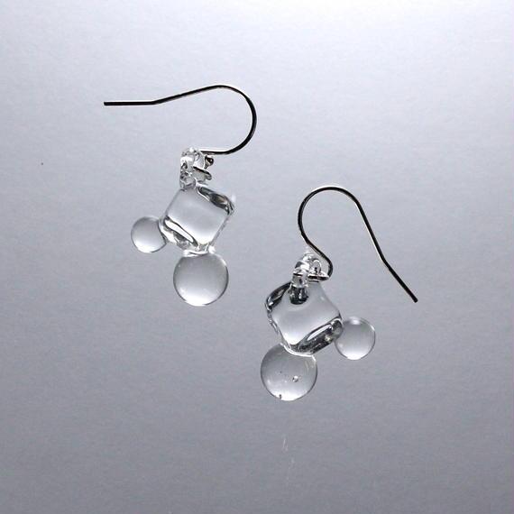 Cube Ball Earrings キューブボールピアス