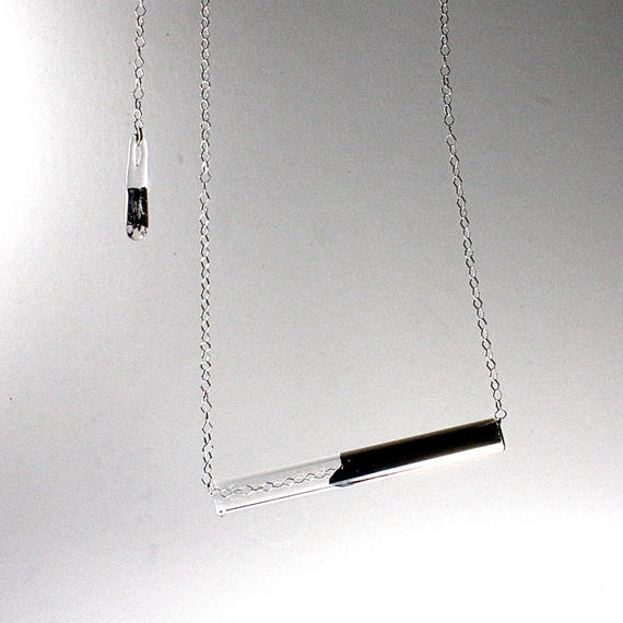 Platinum Bar Necklace プラチナバーネックレス