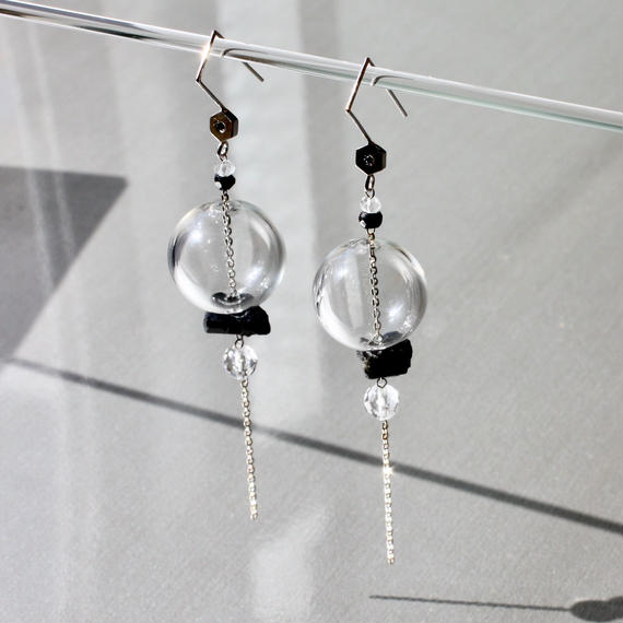 Bonbon Lantern Earring/Black D