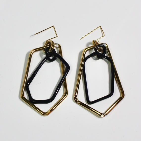 Pengtagon Hook Earrings