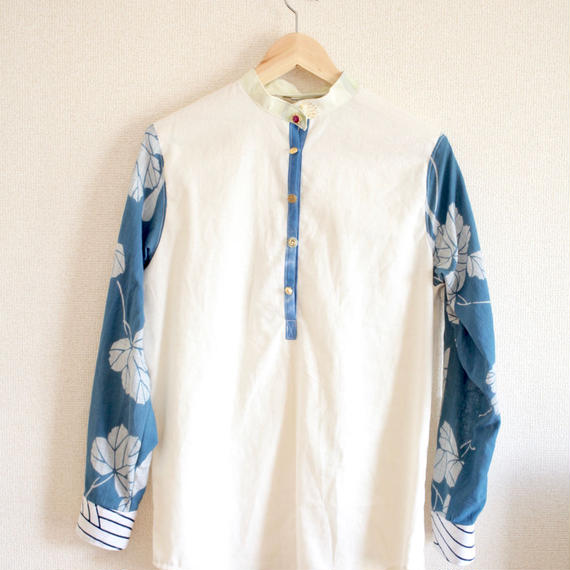 Spring/Summer design half-placket shirt (no.145)