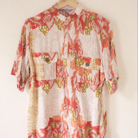Women's casual shirt /Unisex/ Vintage fabric (no.013)