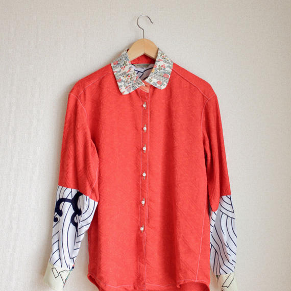 Unisex Japanese Red  Shirt (no.140)
