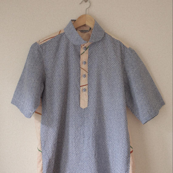 Men's casual shirt /short sleeves/ Unisex (no.012)