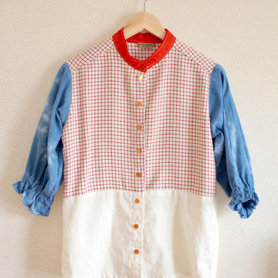 Red/White/Blue casula piknic shirt (no.146)