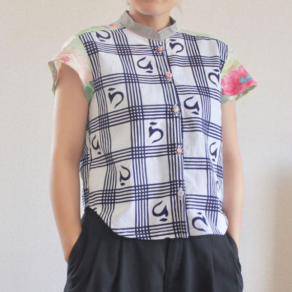 Yukata&Kimono Summer Short Shirt (no.174)