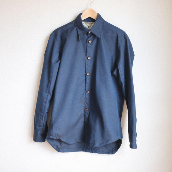 Men's Nostalgic dark blue shirt (no.126)