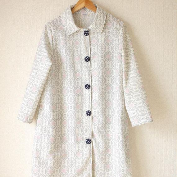 Snow crystal pattern Kimomo coat (no.059)