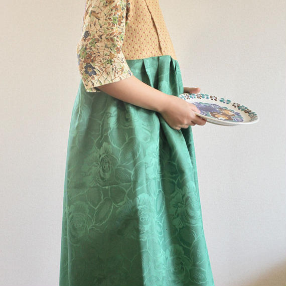 Europe vintage & Kimono casual dress (no.249)