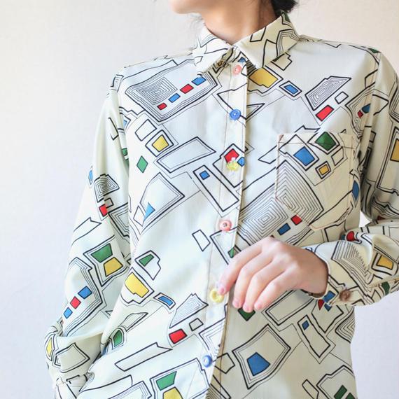 Modern Kimono Casual Shirt (no.114)