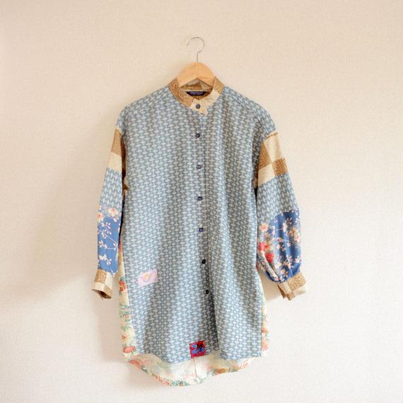 Light blue Kimono Oversized casual shirt (no.261)