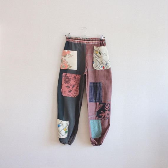 Various Pockets easy casual Pants (no.121)