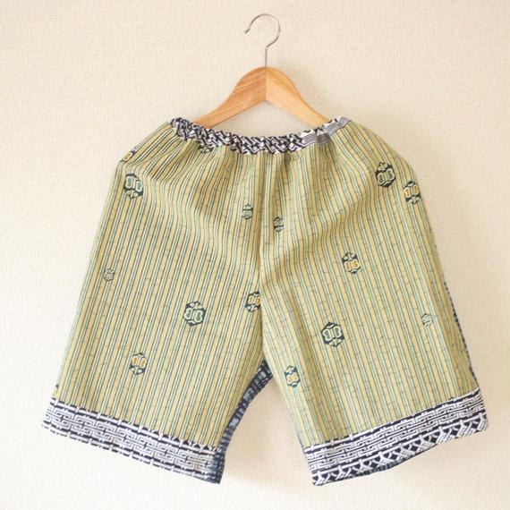 Unisex Kimono&Yukata comfy short pants ① (no.202)