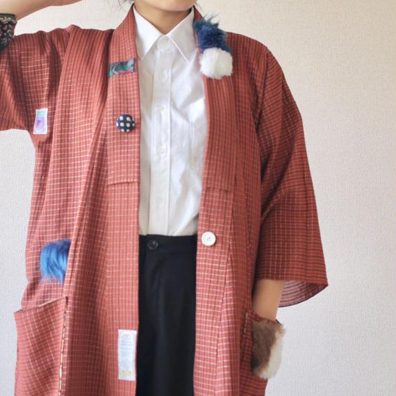 YURU DEKO Haori gown coat (no.075)