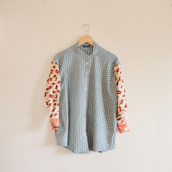 Sleeve pocket Kimono Shirt (no.263)