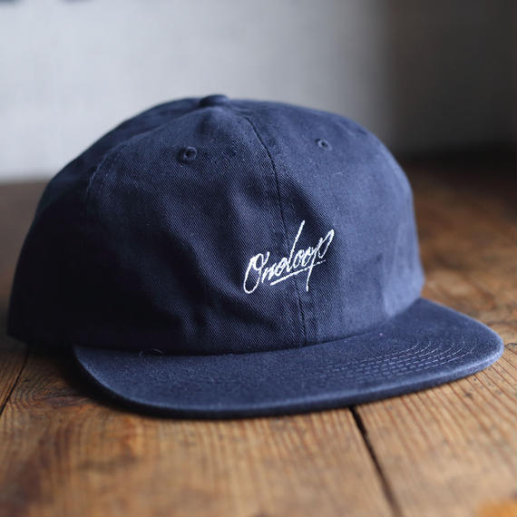 "nuttyclothing / ONELOOP 6 Panel BB CAP ""NAVY"""