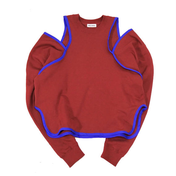open shoulder sweat  shirt(S-1)