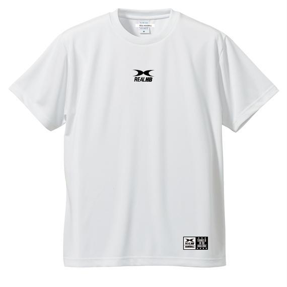 ビッグロゴ ドライTシャツ ホワイト