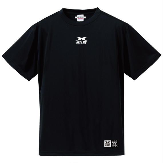 ビッグロゴ ドライTシャツ ブラック
