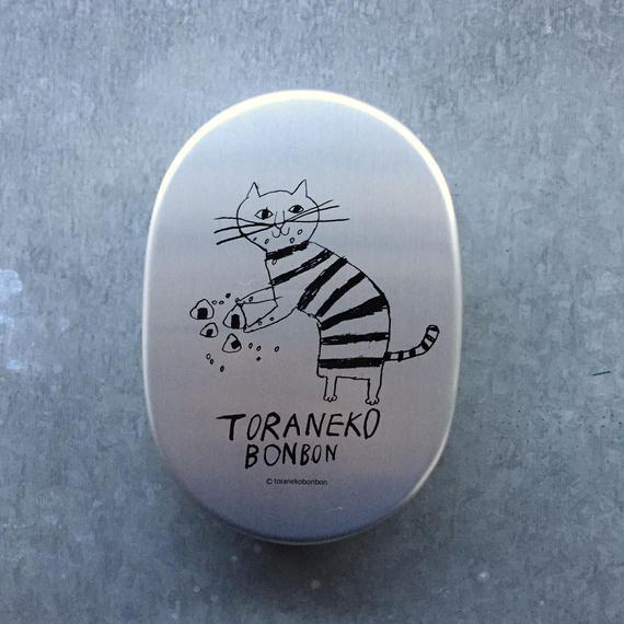 トラネコお弁当箱 小判型 おむすび