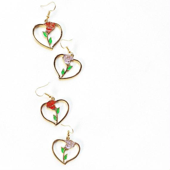ラブ&ローズ・魔法のピアス/ Love n'Rose earring