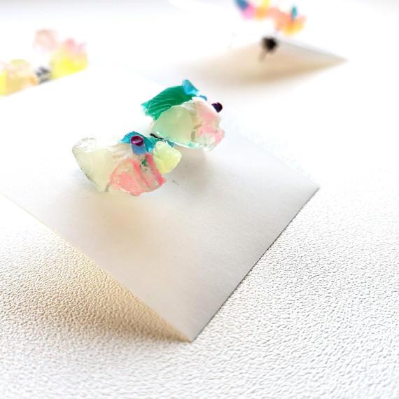 JELLYピアス/ Jellyish earring