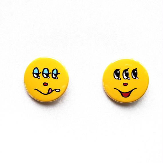 Kyorome SMILE・缶バッジ2個セット/ Tin badge set