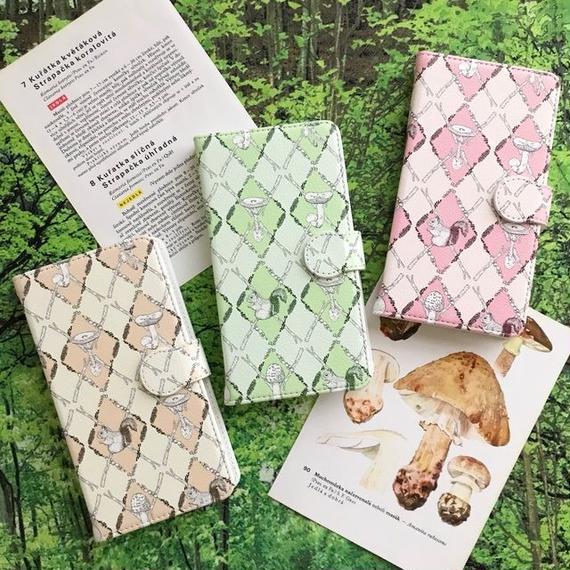 森のアーガイル 手帳型スマホケース/ Book-style iPhone case