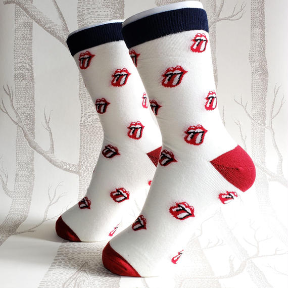ROCKSOCK White/ ladies socks