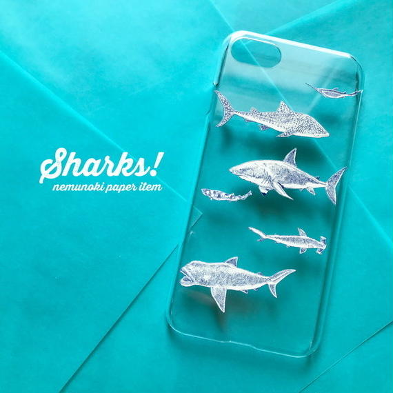 iPhoneクリアケース・OCEANシリーズ/ iPhone clear case