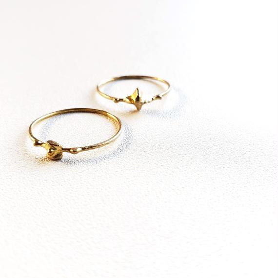 Piece真鍮リング/ Brass Ring