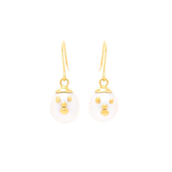 HANDSOME hook type earrings