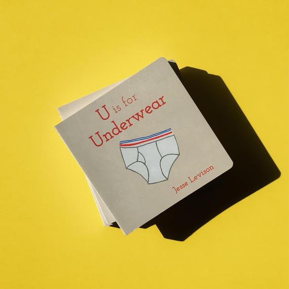 Children's Book 'U is for Underwear'