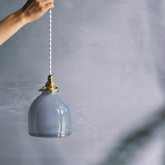 ORIGINAL GLASS LAMP - BLUE GRAY
